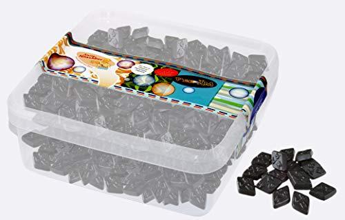 Deine Naschbox - Zuckerfreie Salzlakritz Diamanten - 1kg Box
