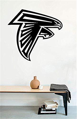 wandaufkleber baum kinderzimmer Wandtattoos Atlanta Falcons Logo American Football Vinyl Aufkleber Wandbild