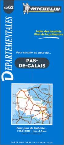 Carte routière : Pas-de-Calais, 4062, 1/150000