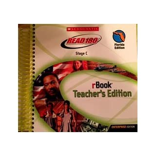 Read 180 Stage C rBook Florida Teacher's Edition by Scholastic (2008-08-01)
