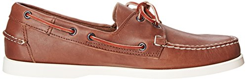 Sebago Docksides 727-22WW Hommes Brown Leather