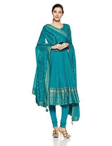 dbc7ea0689 Buy BIBA Women's Anarkali Salwar Suit Set on Amazon   PaisaWapas.com