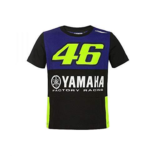 Valentino Rossi Yamaha Dual-Racing, T-Shirt Bambino, Royal Blue, 1/2