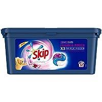 Skip Ultimate Triple Poder Máxima Fragancia Mimosín, detergente cápsulas para lavadora - Paquete de 3 x 32 lavados - Total: 96 lavados