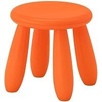 39x36xx67cm IKEA Kinderstuhl MAMMUT Kinderm/öbel Stuhl in kr/äftigem BLAU aus unbedenklichem Kunststoff BxTxH