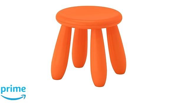I k e a sweden ikea mammut sgabello per bambini in arancione per