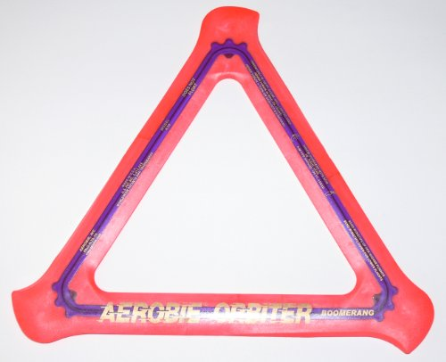 Aerobie Orbiter Boomerang rot