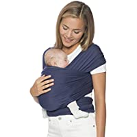 Ergobaby Baby Wrap Carrier for Newborn to Toddler up to 11kg, Baby Sling from Birth Breathable Stretchy made from 100% Viscose, Unisex