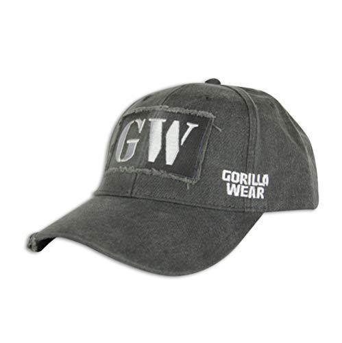 Gorilla Wear Washed Cap - grau - Bodybuilding und Fitness Accessoires für Damen und Herren