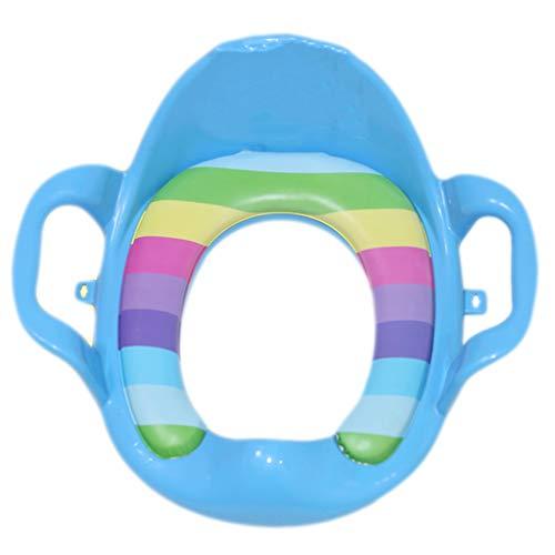 Chaise De Toilette Chaise Bébé Commode Chaise Siège De Toilette pour Enfants Toilette Universelle Portable Coussin Auxiliaire Hommes Et Femmes Siège De Toilette Bébé (38 * 40Cm)
