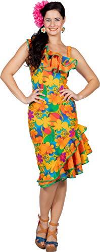 Karibik Tanz Kostüm - Wilbers & Wilbers Hawaii Kostüm Karibik Hula Kleid Hawaiianerin Strand Aloha