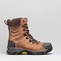 Amblers Mens AS995 Pillar Composite Waterproof Zip Safety Hi-Boot (10 UK) (Brown)