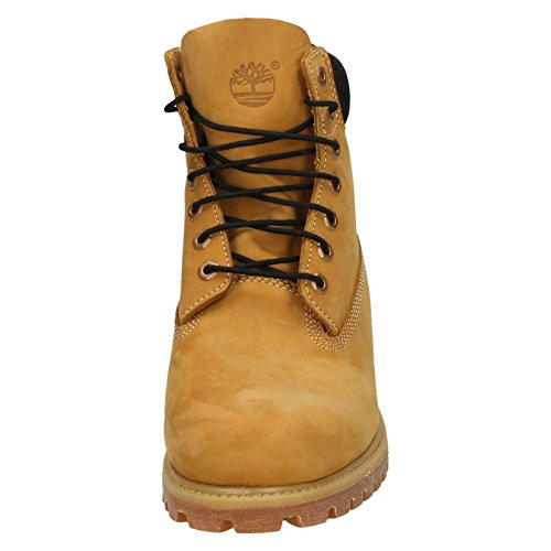 Timberland 6in boot 38521, Ville Homme Brun clair, noir et gomme
