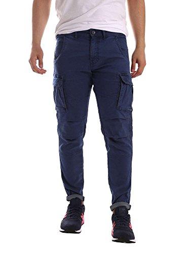 Gas Jeans Herren Jogginghose Bob Gym B Blu (Blue Tint)