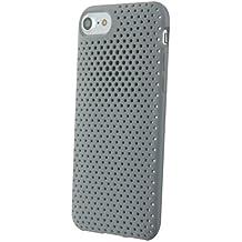 Colorblock Coque semi-rigide pour iPhone6/6S/7/8 Gris