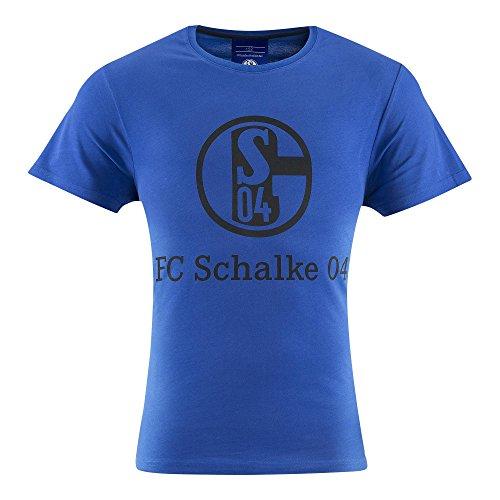 FC Schalke 04 S04 T-Shirt (S, blau)