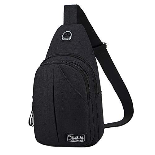Brusttasche für Herren Skxinn Umhängetasche Schultertasche