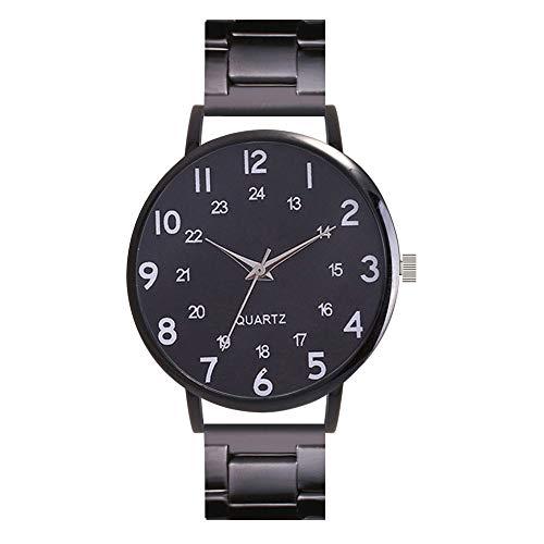 Celucke Armbanduhr Herren Quarz Uhr mit Edelstahl Metallarmband, Männer Uhren Minimalistische Klassisch Quarzuhr Analoguhr Elegant Sportuhr Business Herrenuhr