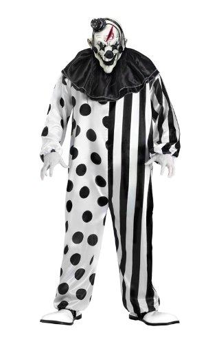 Mörder Clown Kostüm (Mörder Und Opfer Kostüme)