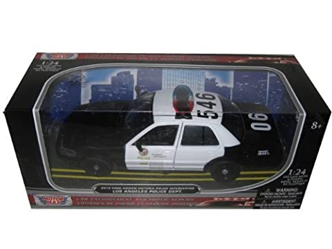 2010 Ford Crown Victoria LAPD Los Angeles Police Department Car 1/24 by Motormax 76946 by Motormax