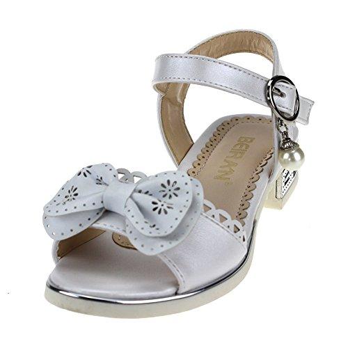 Cixi Maxu E-Commerce.Co.Ltd , Sandales pour fille Blanc
