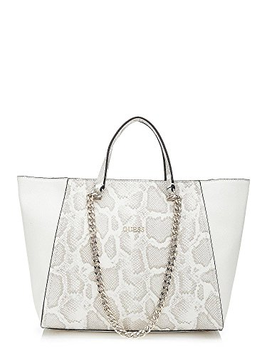 guess-nikki-chain-tote-bone-multicolor