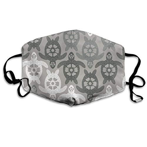 Price comparison product image xcvgcxcvasda Washable Face Mouth Cover Mask Windproof Respirator Turtles Geometric For Men Women Unique pattern design