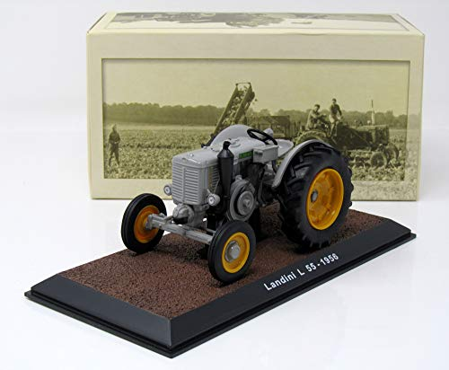 Special C Modell Traktor 1:32 Landini L 55 grau 1956 Atlas 7517020 (Landini Traktor)