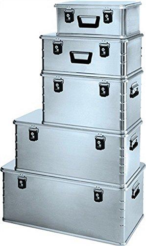 Aluminiumbox Midi 81L. 800x400x300mm mit Dichtung Federfallgriff