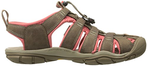 Keen Clearwater CNX Leather Womens Sandal De Marche - SS15 brown