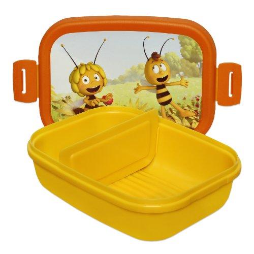 Studio 100 MEMA00000320 - Die Biene Maja: Lunchbox, Motiv 2 (Bienen, Brot)