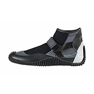Gill Kids Youth Junior Aquatech 2MM Neoprene Shoes Black/Silver - 2mm double lined neoprene