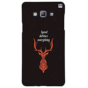 Speed Defines Everything - Mobile Back Case Cover For Samsung Galaxy A7 (2015)