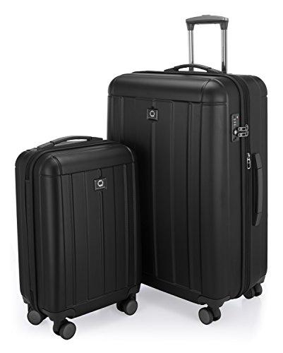 Hauptstadtkoffer Juego de maletas, negro (Negro) – 82731018