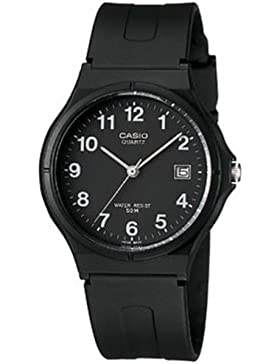 CASIO Damen-Armbanduhr Analog Quarz Resin MW-59-1B