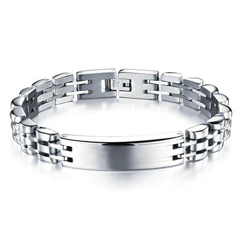 epinki-stainless-steel-mens-bracelet-watch-strap-polished-silver-21cm