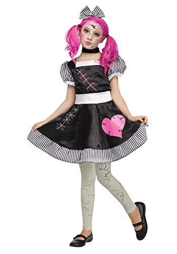 Broken Doll Kind Kostüm - Broken Doll Child Costume Small