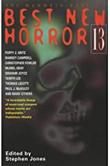 The Mammoth Book of Best New Horror 13: Vol 13: No. 13 (Mammoth Books) Paperback