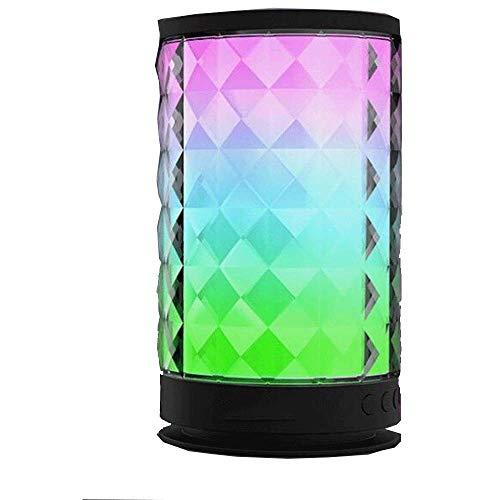 LED Bluetooth Lautsprecher Portable Wireless 6 Colorfull Ändern Smart Rave Light Show Party Lautsprecher Speaker für Freisprecheinrichtung/TF-Karte/Tablet/Laptop - Farbwechsel Lautsprecher-tower