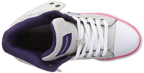 ... Kappa Baron Damen Hohe Sneakers Grau (1422 l'grey / pink) ...