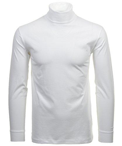 RAGMAN Rollkragen Pullover Baumwoll-Jersey XXL, Weiss-006