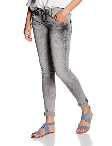 Herrlicher Piper Slim Denim Stretch-Blu Donna Grigio (gravel 629)