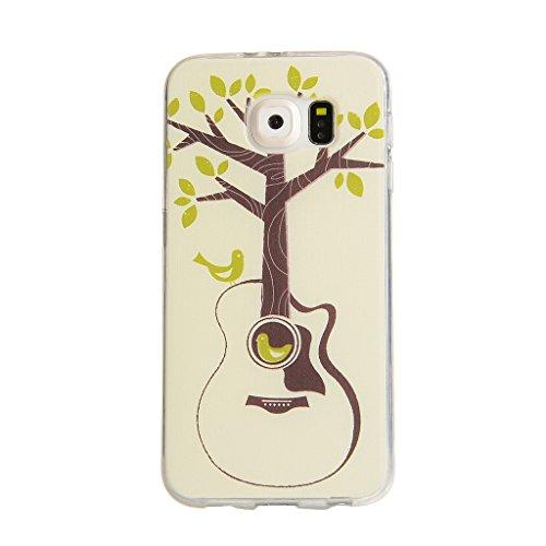 iPhone 6s Plus / iPhone 6 Plus Hülle mit Frei Hartglas Displayschutzfolie, BoxTii Apple iPhone 6 Plus / iPhone 6s Plus TPU Schutzhülle, Weiche Kratzfeste Stoßdämpfende Rückschale Case Cover für Apple  #9 Baum