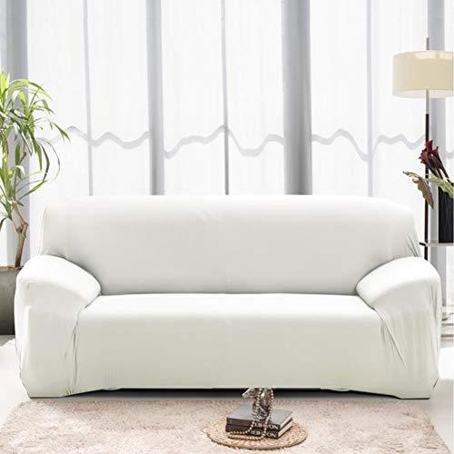 Fgvbwe4r copridivano moderno spandex per soggiorno coprivasi elastici bianco copridivano angolare copridivano divano componibile 1/2/3/4 seduta, bianco, 4 posti 235-300cm