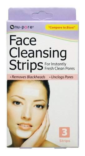 Nu-Pore Face Cleansing Strips, Bulk Case of 48 by nu-pore (Pore Cleansing Strips Nu)