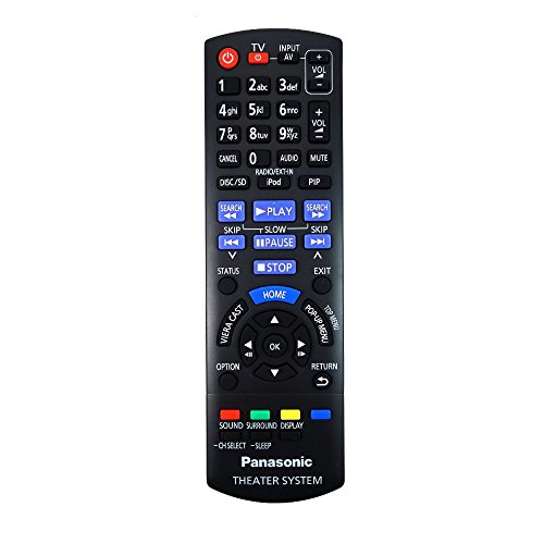 véritable Télécommande PANASONIC n2qayb000630Home Cinéma