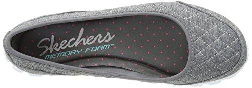 Skechers - Ez Flex 2 - Spruced-Up, Scarpa Con Tacco da donna Grigio (Grigio (Grey))