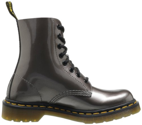 Dr. Martens Pascal, Boots femme Argent (Pewter Spectra Patent)