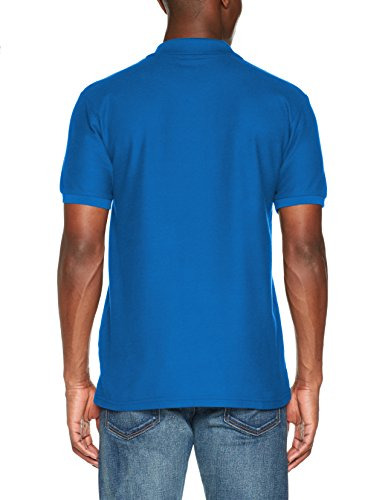 Fruit of the Loom Herren Poloshirt Pocket Polo Blau (Royal 300)