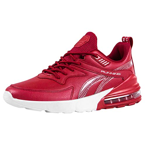 BoyYang Herren Laufschuhe Fitness Straenlaufschuhe Unisex Sneaker Sportschuhe Atmungsaktiv rutschfeste Mode Schuhe Freizeitschuhe Turnschuhe Fitnessschuhe Trekking Laufschuhe Straßenlaufschuhe
